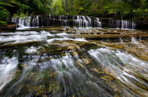 """Summer Cascades - Au Train Falls (Au Train, MI)"""